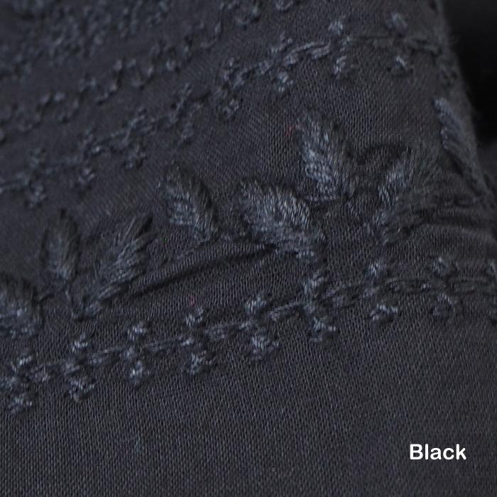 MIDIUMISOLID ミディウミソリッド ギャザースカート マキシ丈 インド刺繍 ベージュ ブラック レディース
