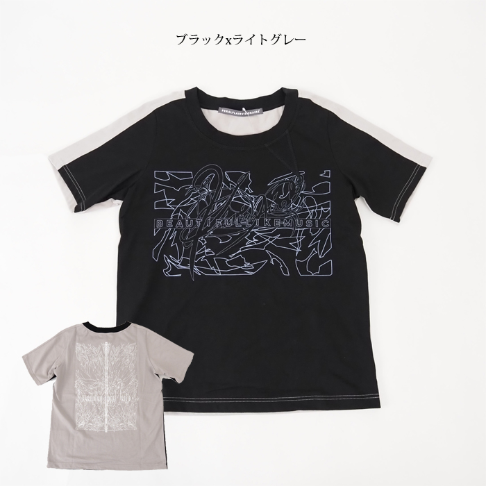 FERAL FLAIR VISIONAIRE フィラルフレア ヴィジョネア ラウンドネック 半袖プリントTシャツ レディース